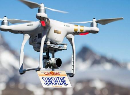 EM BREVE DRONES PODEM PRECISAR DE PLACA DE IDENTIFICAÇÃO