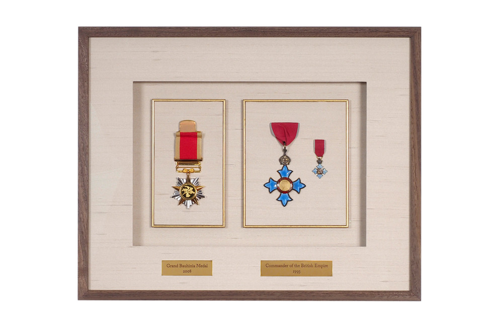 GBM and CBE Medals