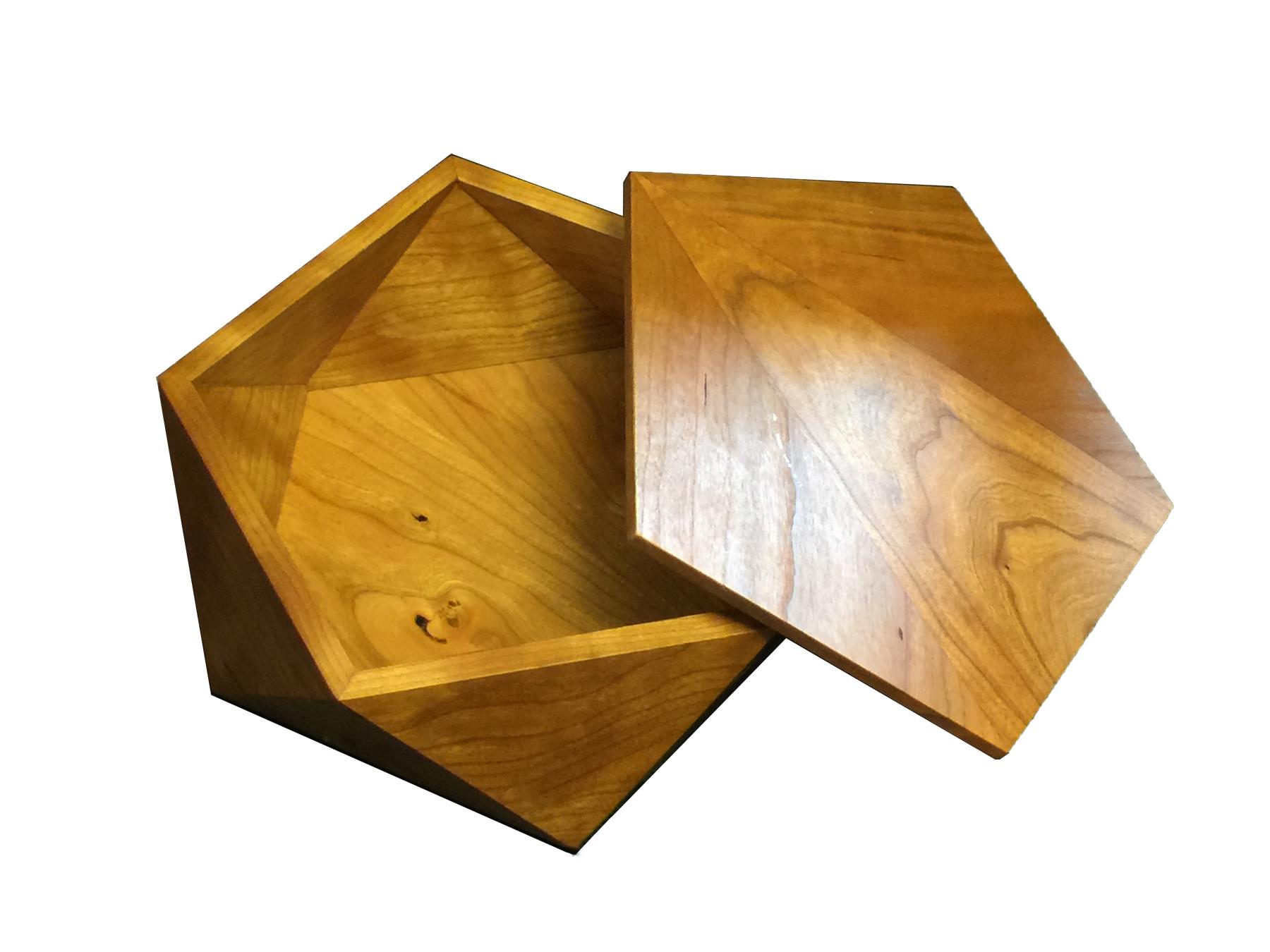 Pentagonal Box - Cherry