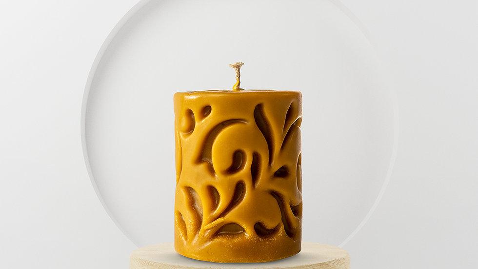 "Candle ""Carved Cylinder"" 340 g"