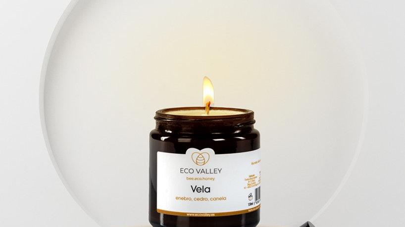 "Candle ""Juniper, Cedar and Cinnamon"" 120 ml"