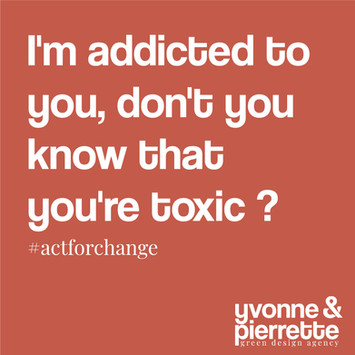 I'm addicted to you, don't you know that you're toxic ?