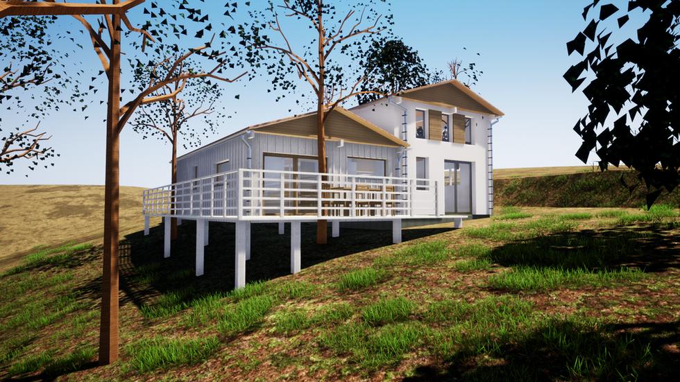 Rénovation et extension d'un bungalow - Détails Architecture