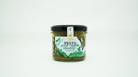 Pesto Persil Menthe Ciboulette