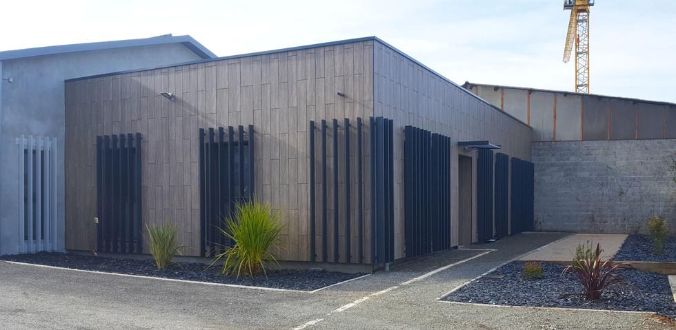 Extension d'un cabinet de kinésithérapie - Détails Architecture