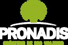 Pronadis logo blanc