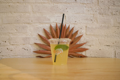 Olla poké boisson citronnade maison bio