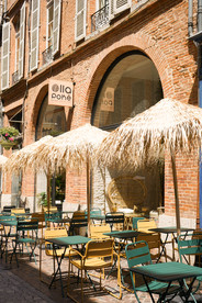 Olla poké extérieur terrasse restaurant