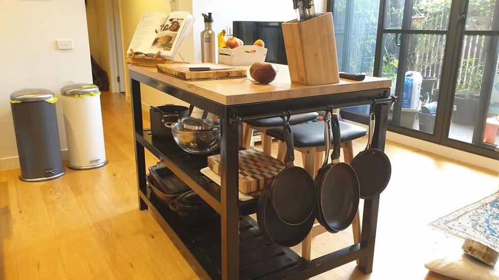 Handmade Kitchen Island