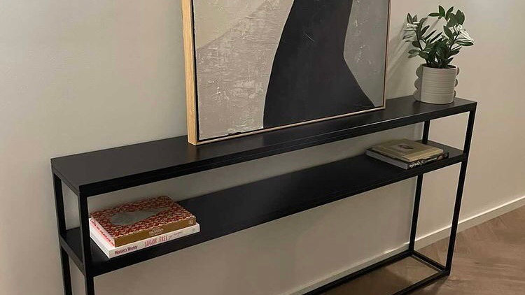 Handmade console table (free delivery only includes northern suburbs Melbourne-V