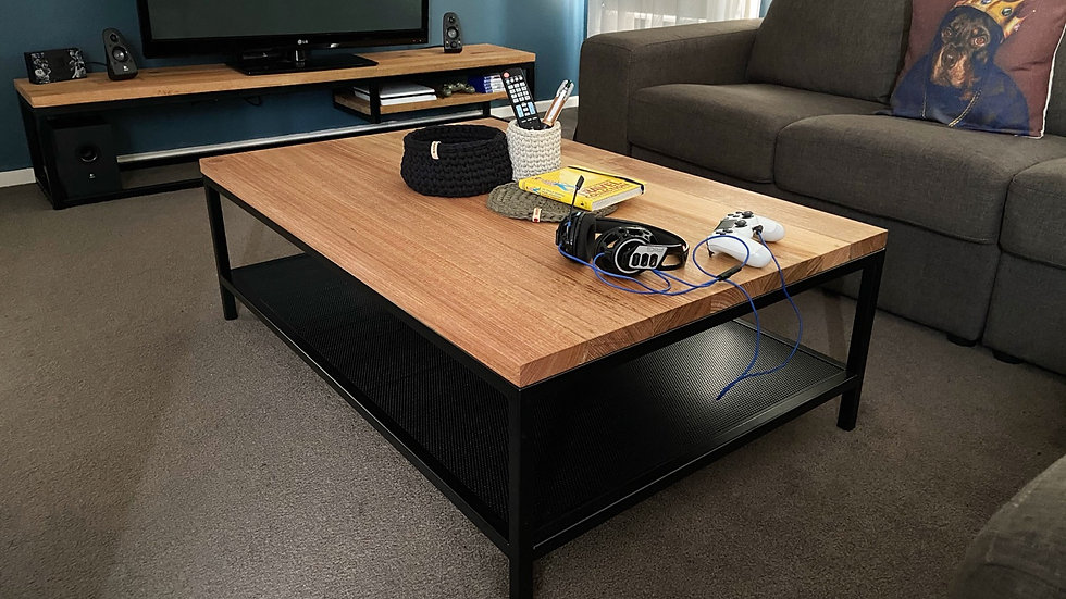 Gorgeous handmade coffee table (free delivery only northern suburbs)