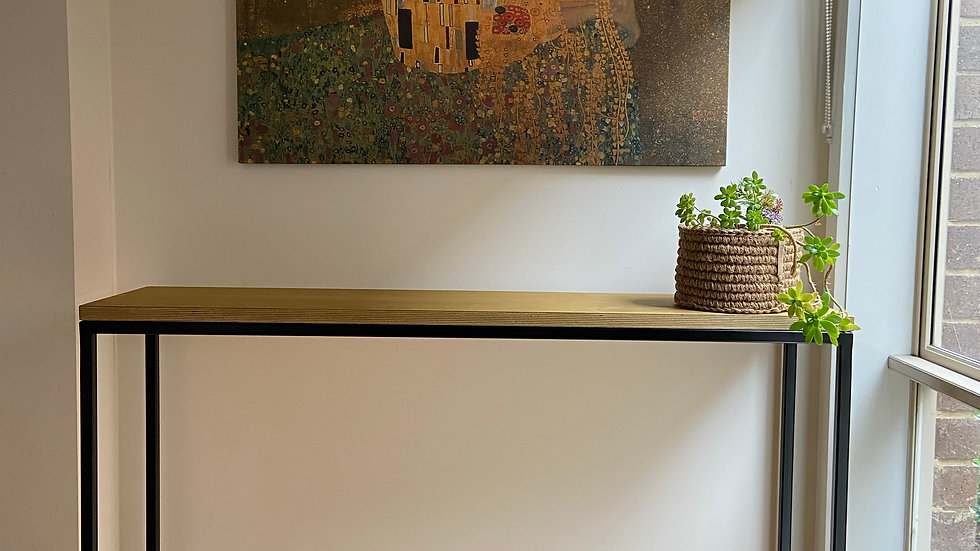 Stunning handmade hallway table(free delivery only includes northern suburbs of