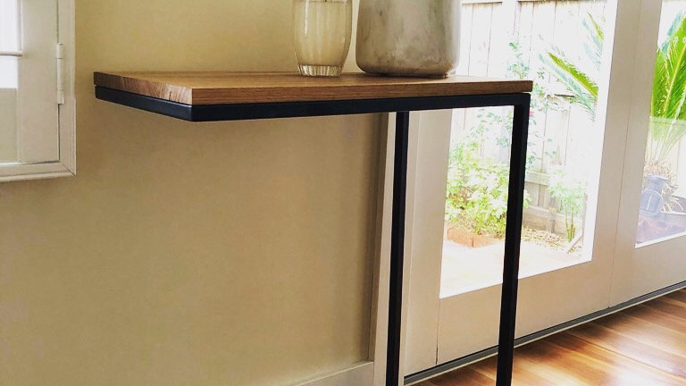 Amazing handmade C-table (free delivery only Melbourne northern suburbs)
