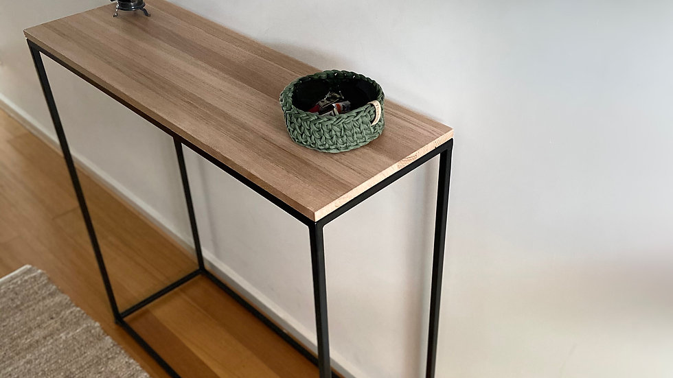 Handmade hallway table(free delivery only includes northern suburbs of Melbourne