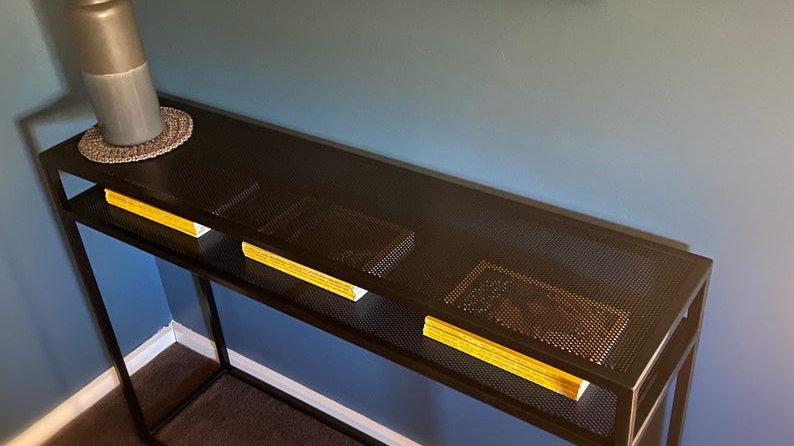 Handmade console table (free delivery only includes northern suburbs Melbourne)