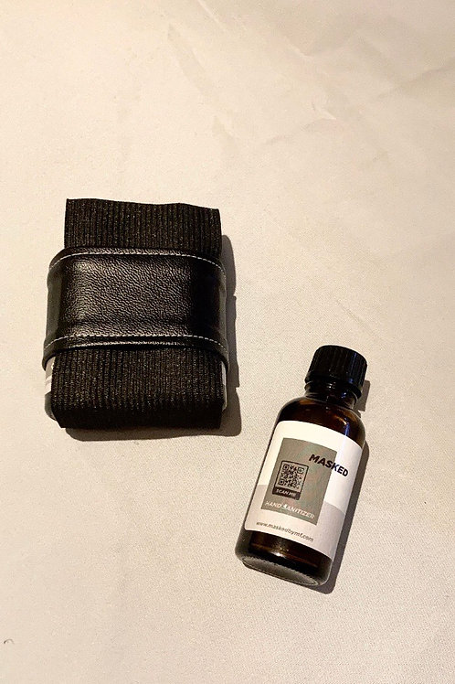 MASKED 2x Hand Sanitizers in small etui