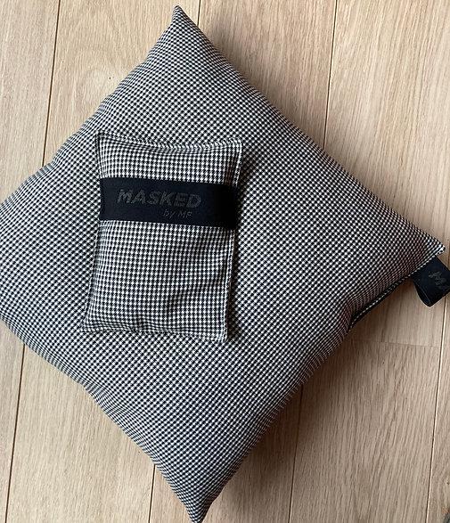 Checker pillow