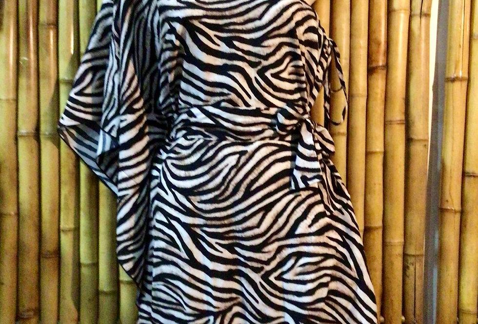 Way Angel Dress - zebra