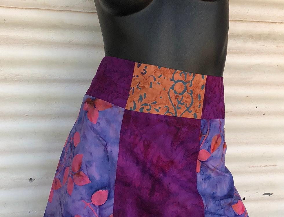A-Line Skirt - Boganvillea