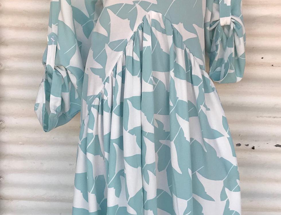 Flow Dress - Manta Rays - Size 14-16