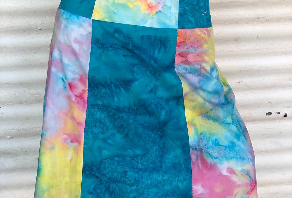 A-Line Skirt -Mardi Gras
