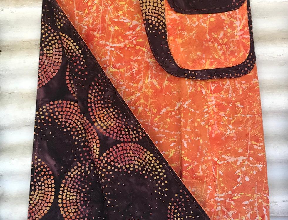 Reversible Skirt - Dot Paintings in the Bush