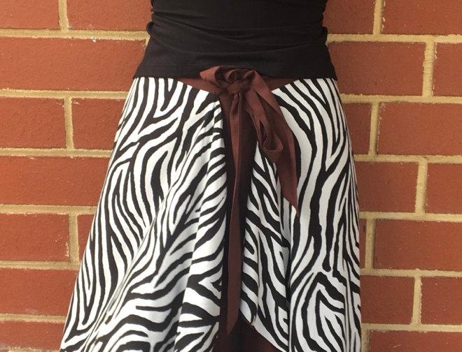 Zebra Rock - Combination Skirt & Dress