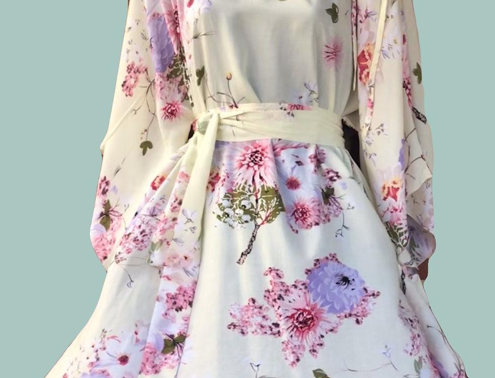 Angel 4 way dress - Chrysanthemums