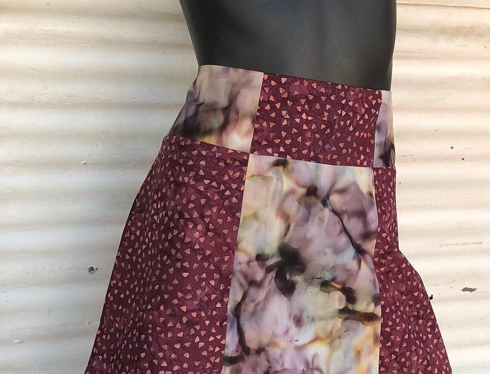 A-Line Skirt - Raspberry Melee