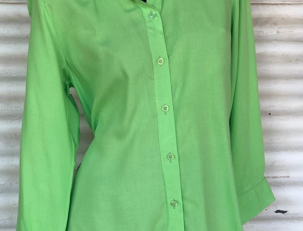 Dench Shirt - Apple Green  - Soft Cotton