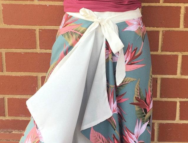 Strelitzia on Jade - Combination Skirt & Dress