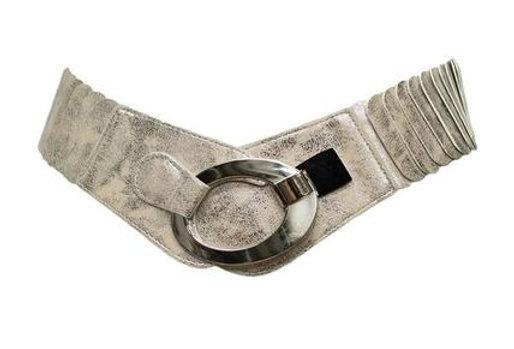 Belt Layered Shiney Silver
