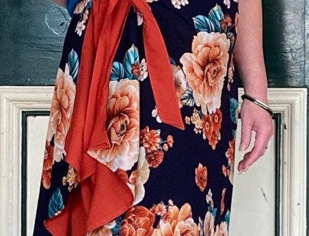 Combination Skirt/Dress - Vintage Garden