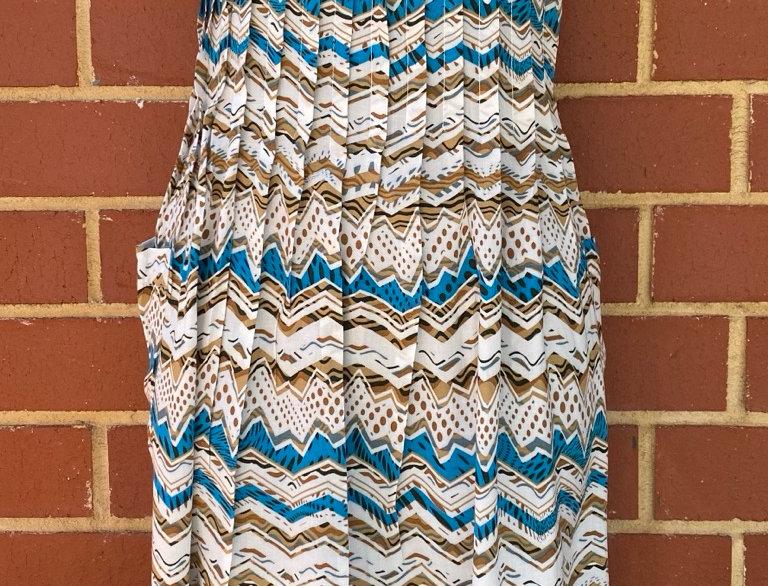Pintuck Dress - Aztec