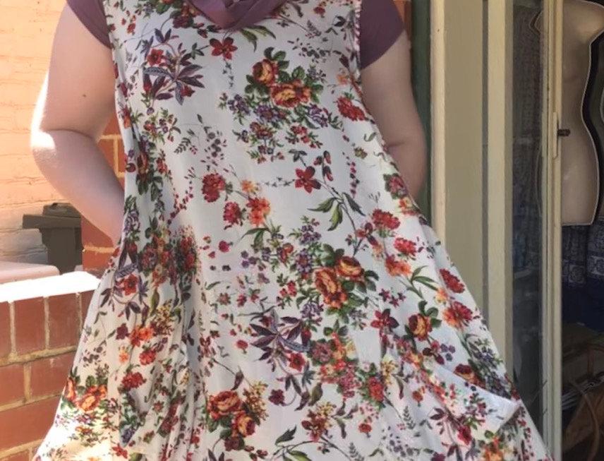 Tulip Dress - Posies