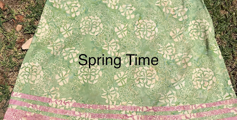 Retro Skirt - Spring Time