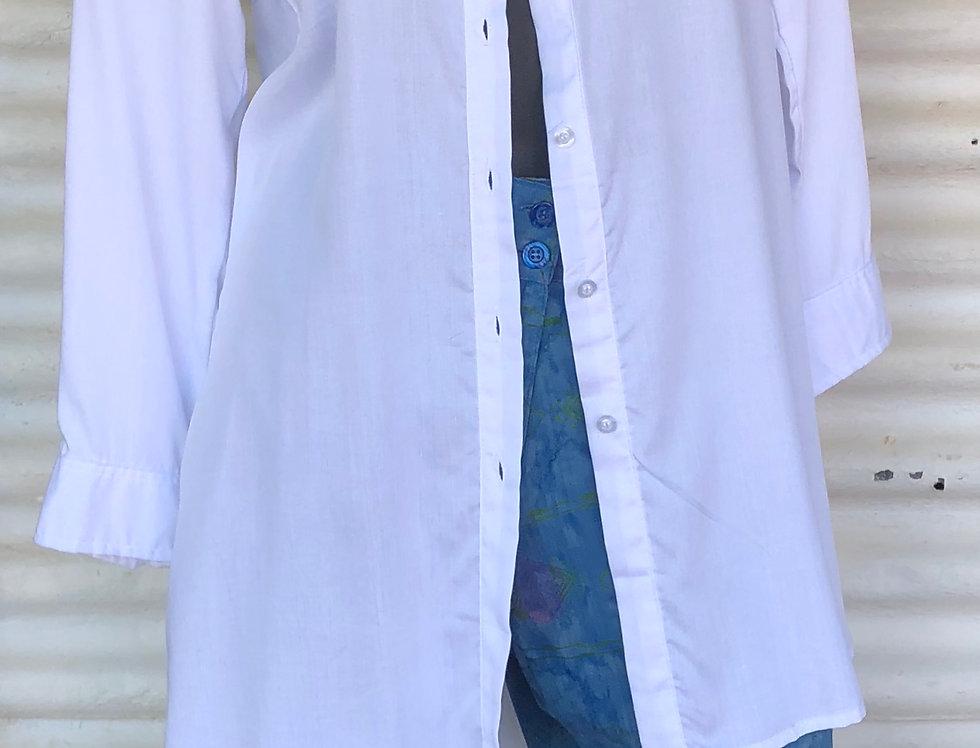 Dench Shirt - White soft Cotton