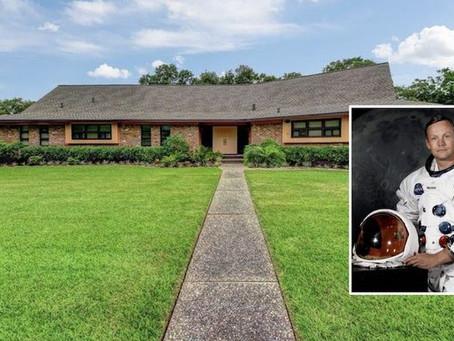 ニール・アームストロング船長が「アポロ月面着陸」を成し遂げた時期に住んでいた家が販売中