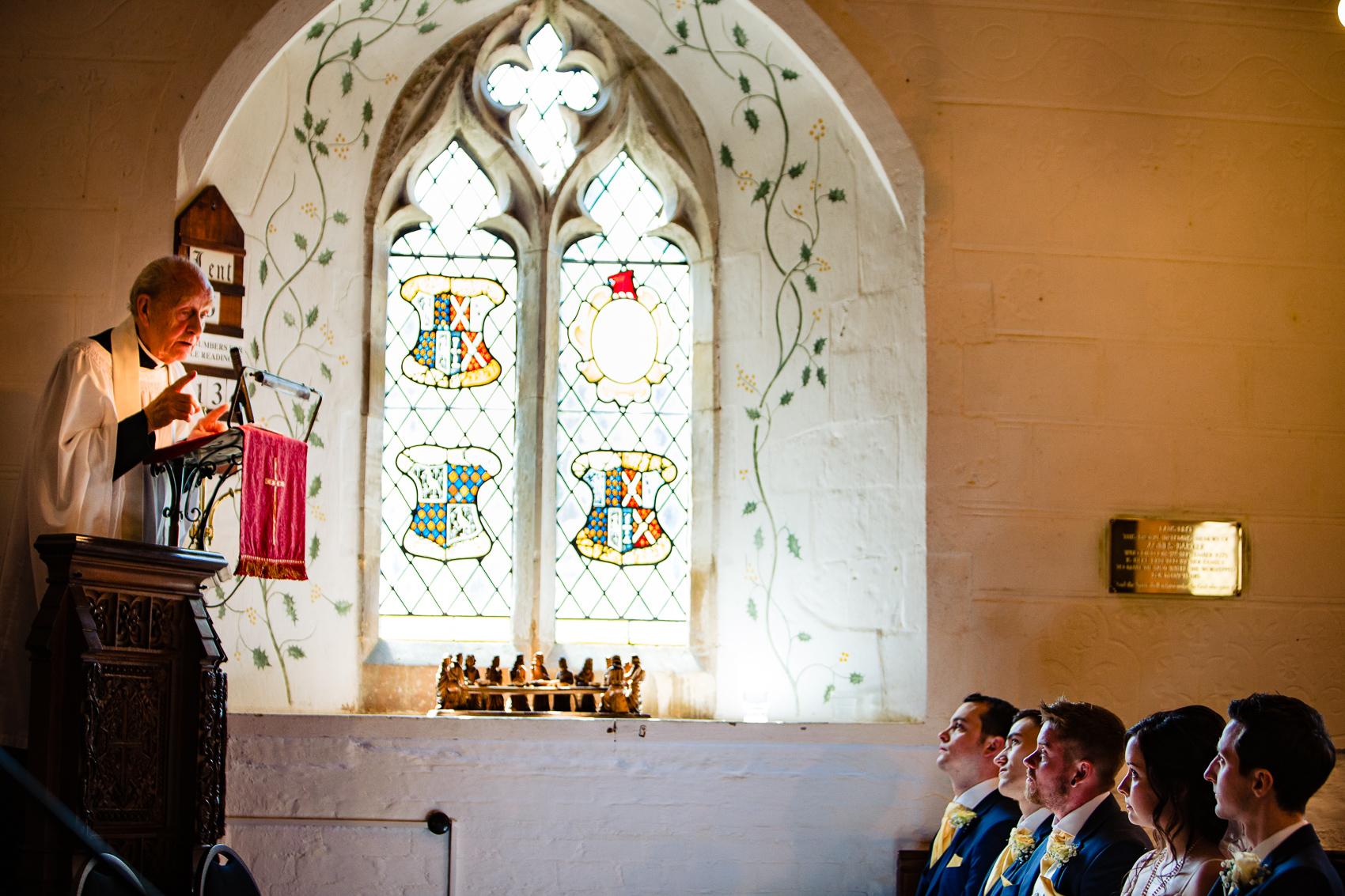 Vicar at St Leonard's Church Sherfield on Loddon
