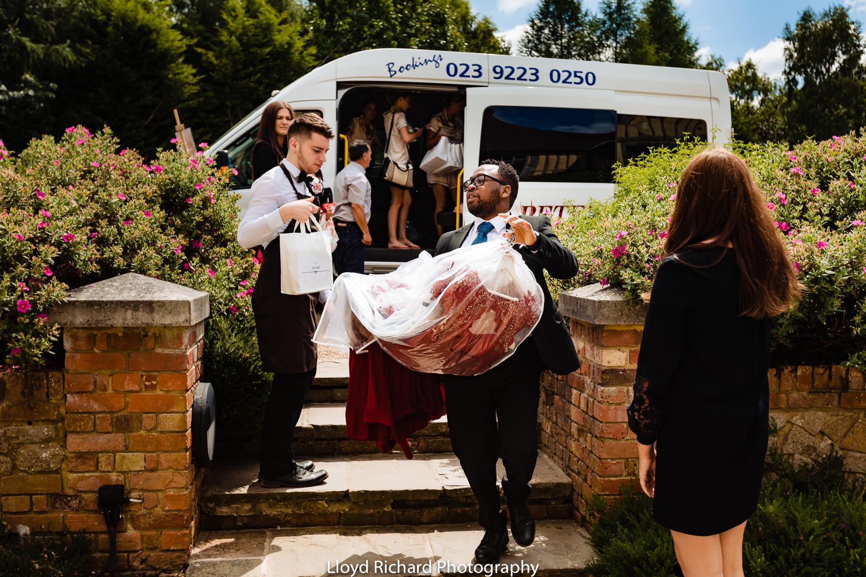 Bridal Prep at Cain Manor
