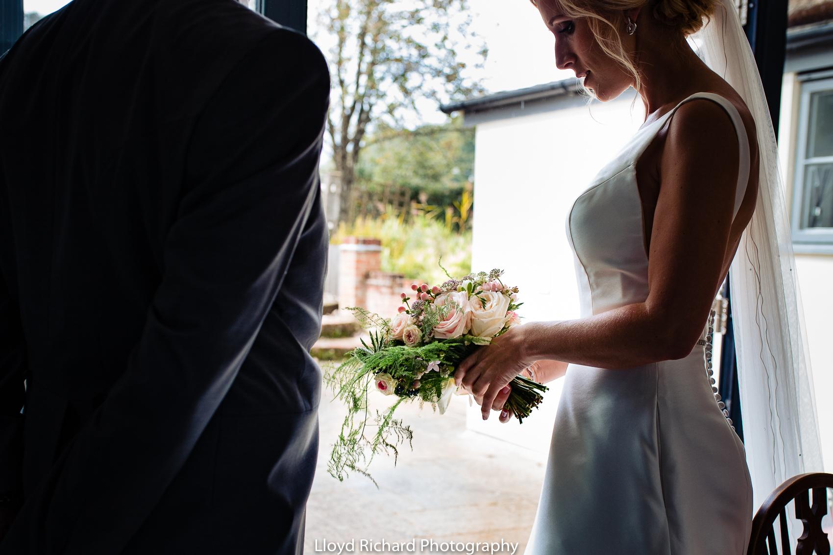 wedding flowers at Beaulieu Abbey Domus  wedding