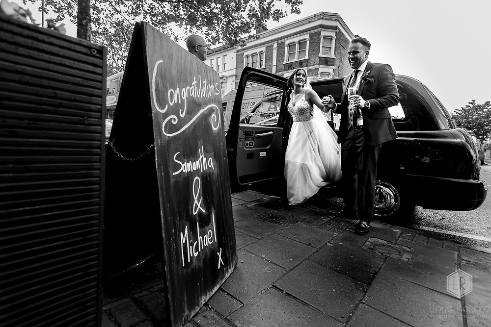 London Wedding Photographer - East Dulwich