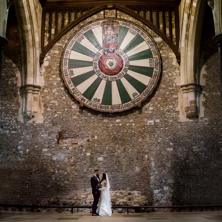 The Great Hall Winchester - NYE Wedding