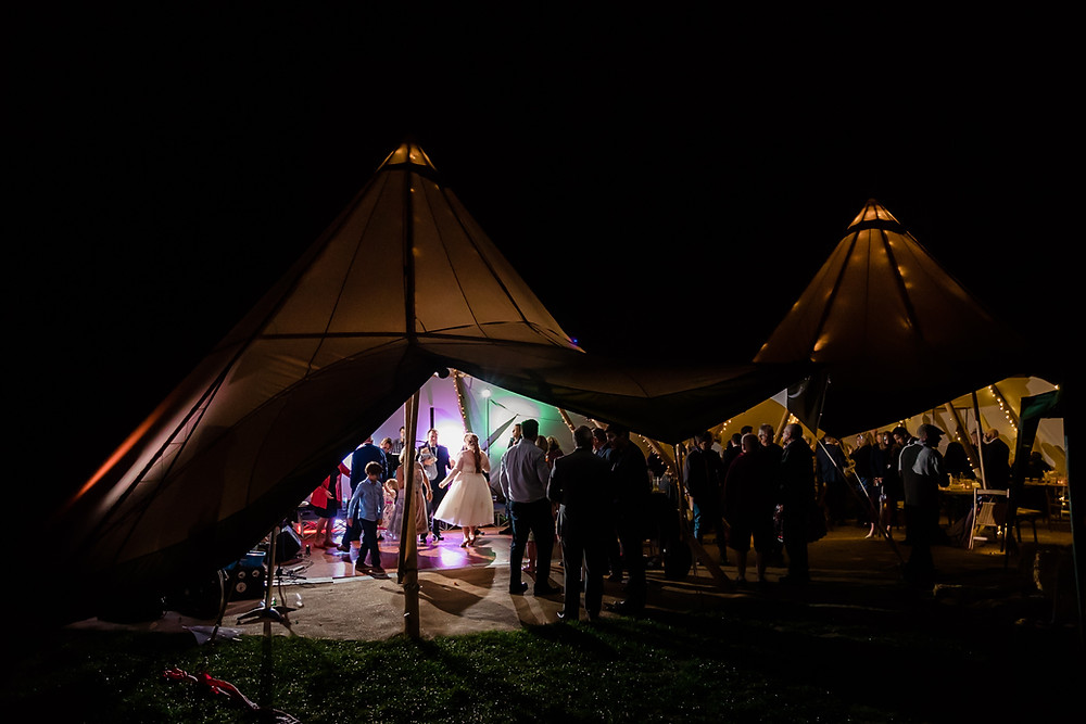 Tipi Wedding Hampshire