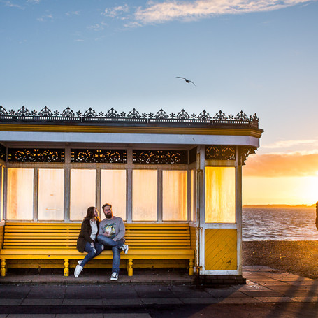 Engagement Shoot - Southsea, Portsmouth