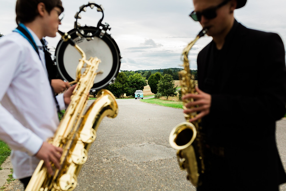 Wedding band playing at Wedding Reception at Rookesbury Park, Wickham