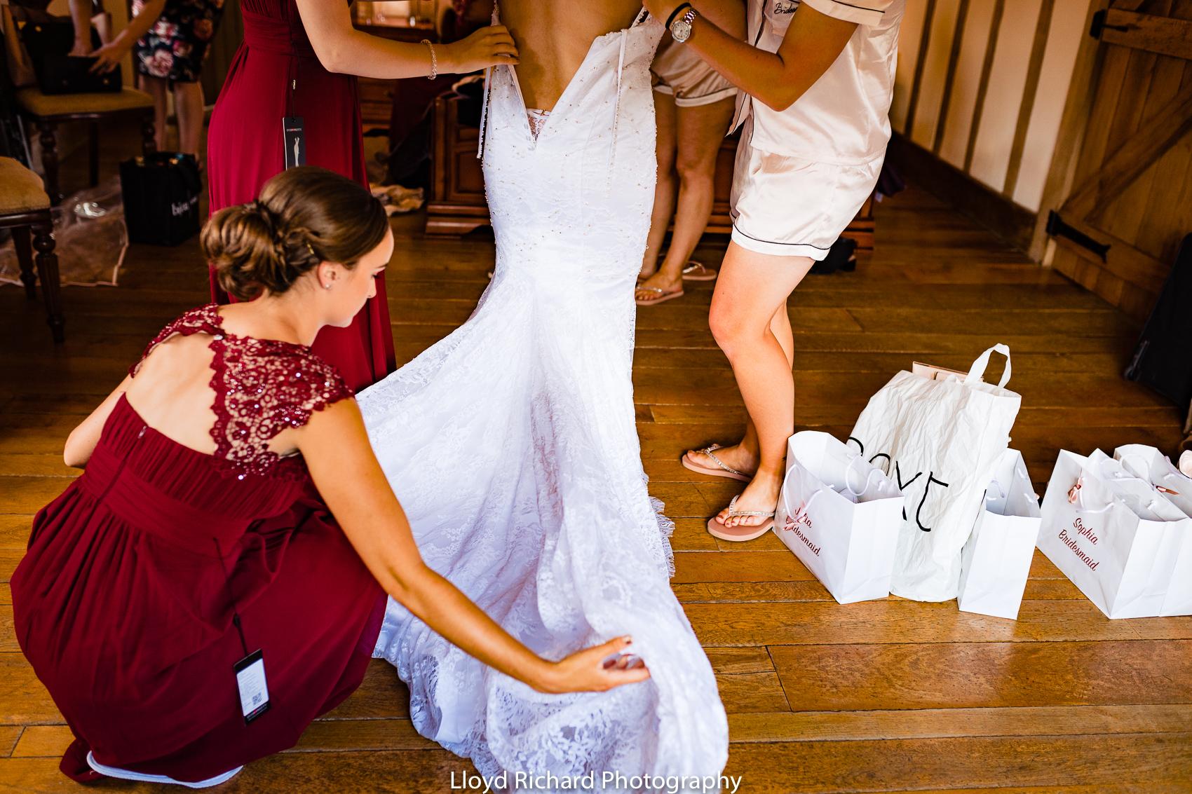 Wedding dress  at Cain Manor