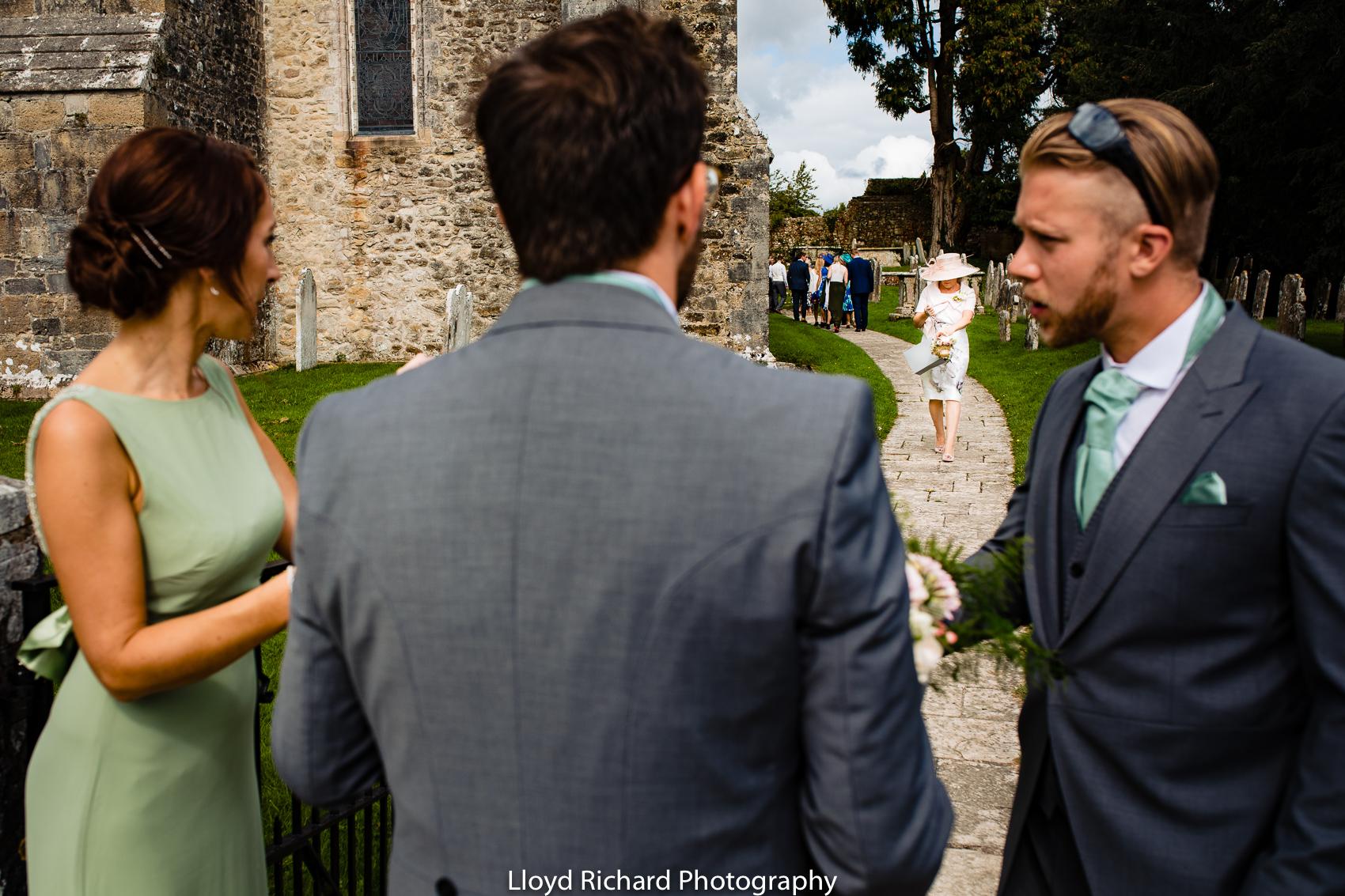 wedding prep at Beaulieu Abbey Domus