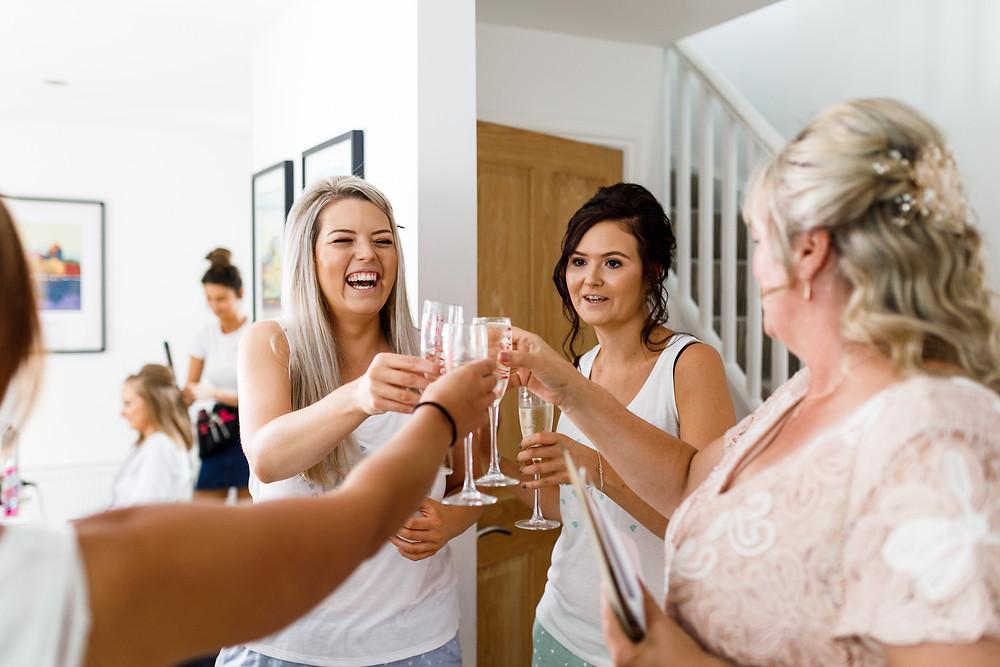 Wedding Morning Airbnb Worthing