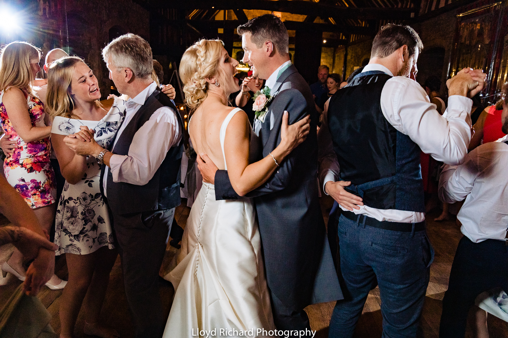wedding dance at Beaulieu Abbey Domus